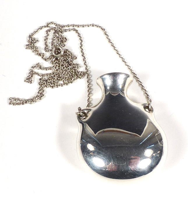 842b682aa Home / Jewelry / Pendants / Tiffany Elsa Peretti Sterling OPEN BOTTLE  Pendant