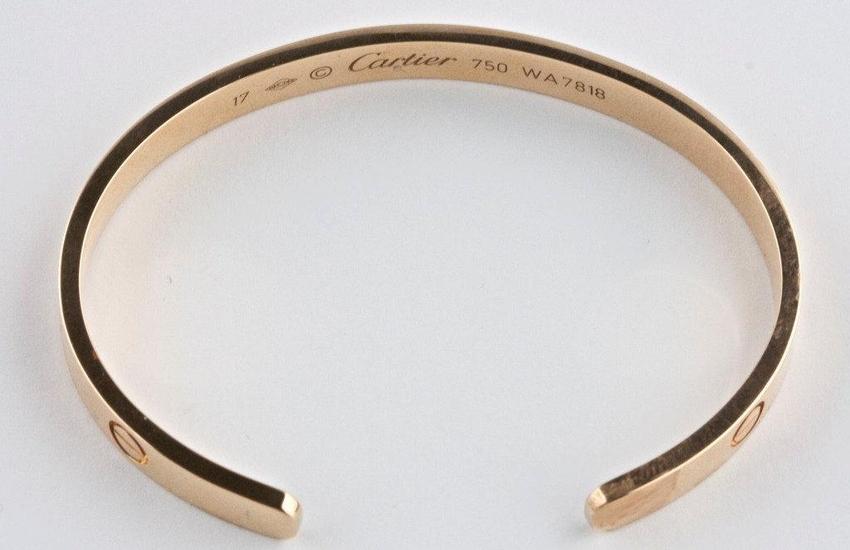 Cartier Bangle Bracelet Collectorsnet