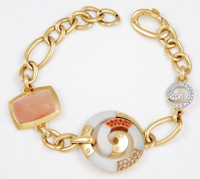 Carnelian and Coral VALENTE Bracelet