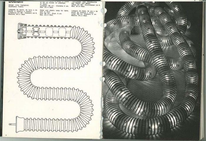 oggetti per arredare. Catalogo `70 Italia.