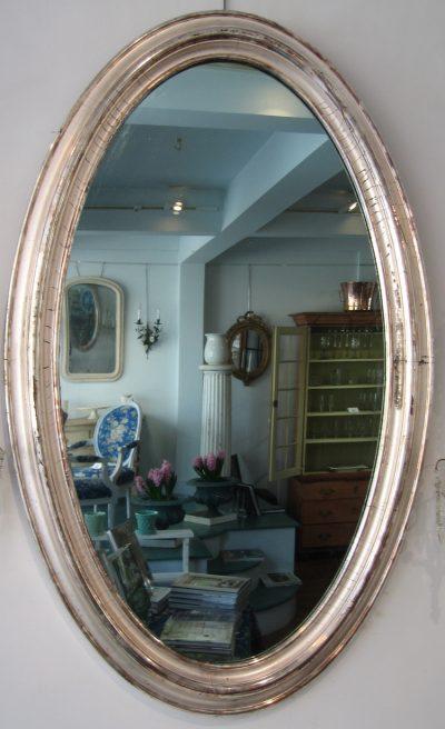 Platinum Gilt Mirror
