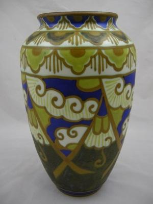 Rare Boch Freres Keramis Vase Circa 1929