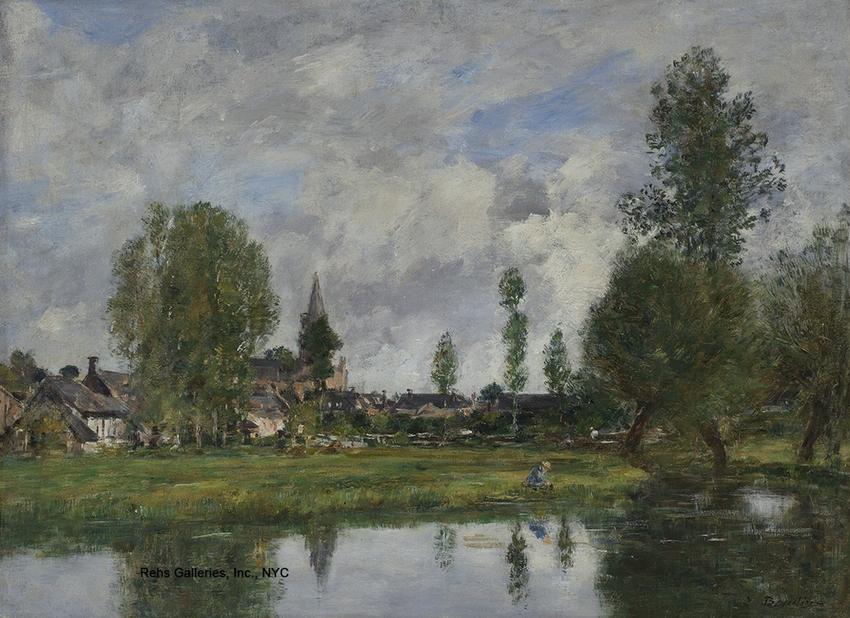 Eugène Louis Boudin (1824 – 1898)
