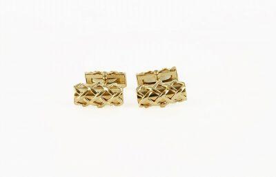 18kt Yellow Gold Tiffany & Co X Cufflinks
