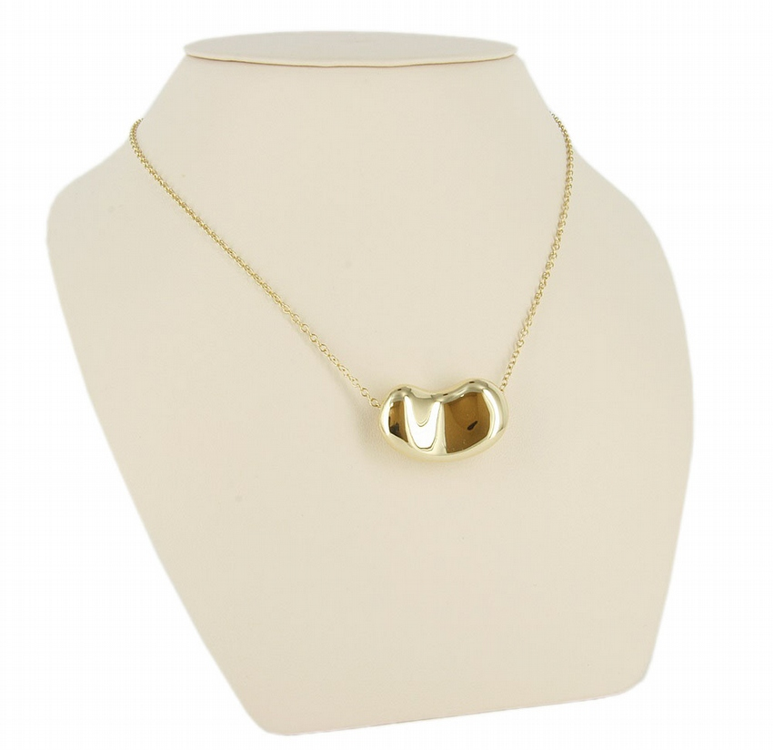 18kt Yellow Gold Tiffany & Co XL Bean Necklace