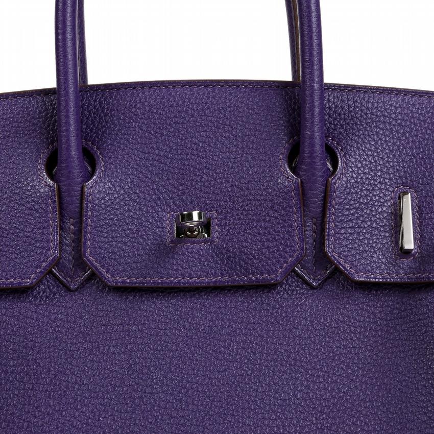 43ee9dcd368a Authentic Hermes 35Cm Iris Togo Leather Birkin – CollectorsNet