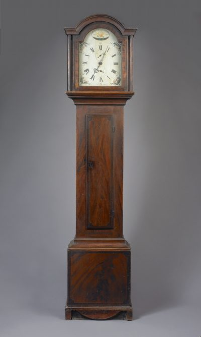 Federal Paint Decorated Clock