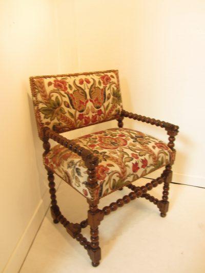 Louis XIII Baroque Armchair