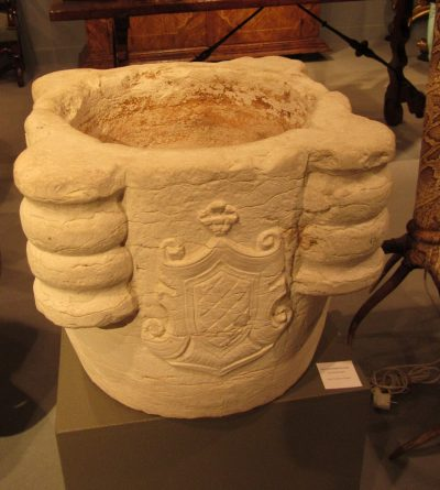 Exceptionally big 17th century Italian Marble Morar