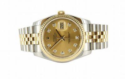 18kt Yellow Gold & Stainless Steel Datejust Rolex Watch