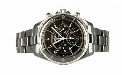 Black Ceramic Chanel J12 Watch