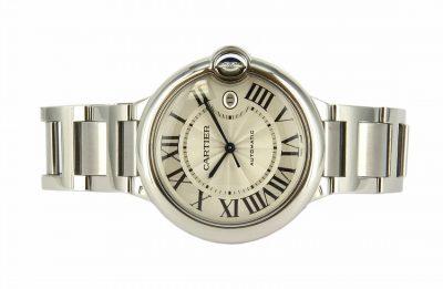 Stainless Steel Cartier Ballon Bleu Watch