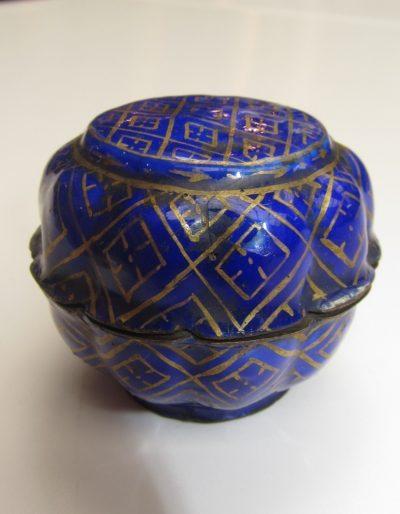 Limoges enamel snuff box