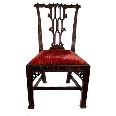 19th C English Georgian Style Chair C 1860