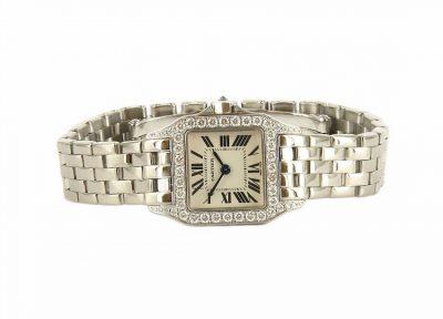 18kt White Gold Cartier Demo Watch