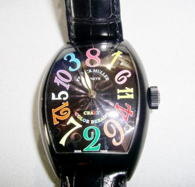 Franck Muller Crazy Hours Color Dreams Watch