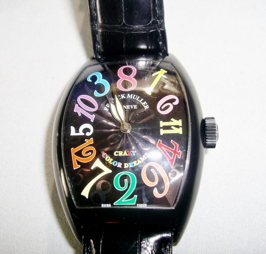 Franck Muller Crazy Hours Color Dreams Watch