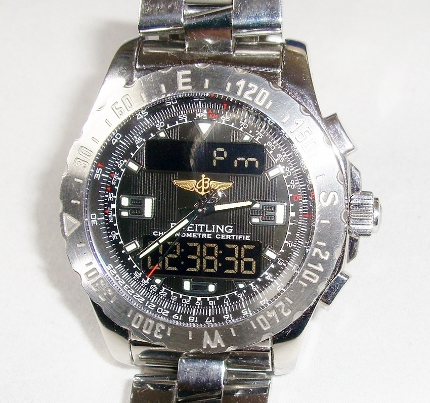 Breitling Man's Watch Airwolf Professional Chronograph A78363