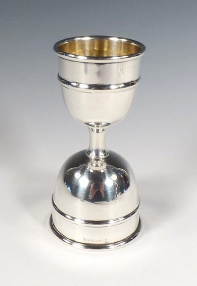 Thomae & Co. Sterling Double Jigger