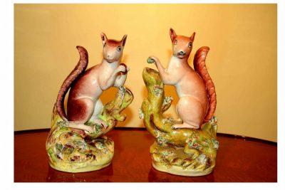 Staffordshire Squirrels