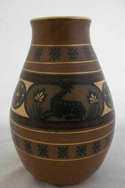 Emile Lombart Stoneware Vase