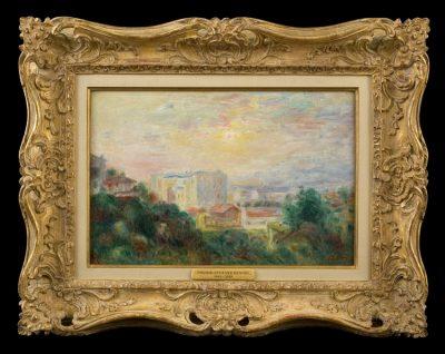 Pierre-Auguste Renoir - Vue de Montmartre