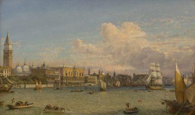 Christian Friedrich Nerly - View of Venice
