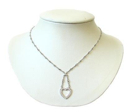Tiffany platinum and diamond heart necklace collectorsnet tiffany platinum and diamond heart necklace aloadofball Gallery