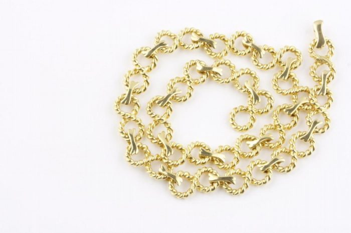 Tiffany Gold Necklace