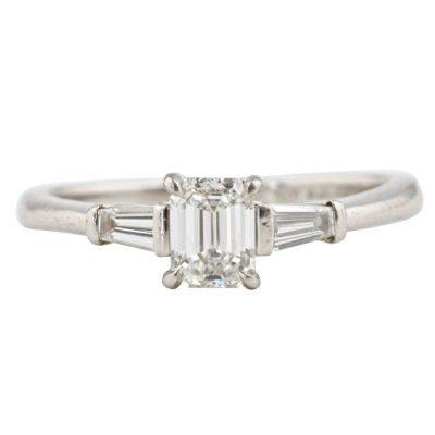 Tiffany Diamond Platinum Engagement Ring
