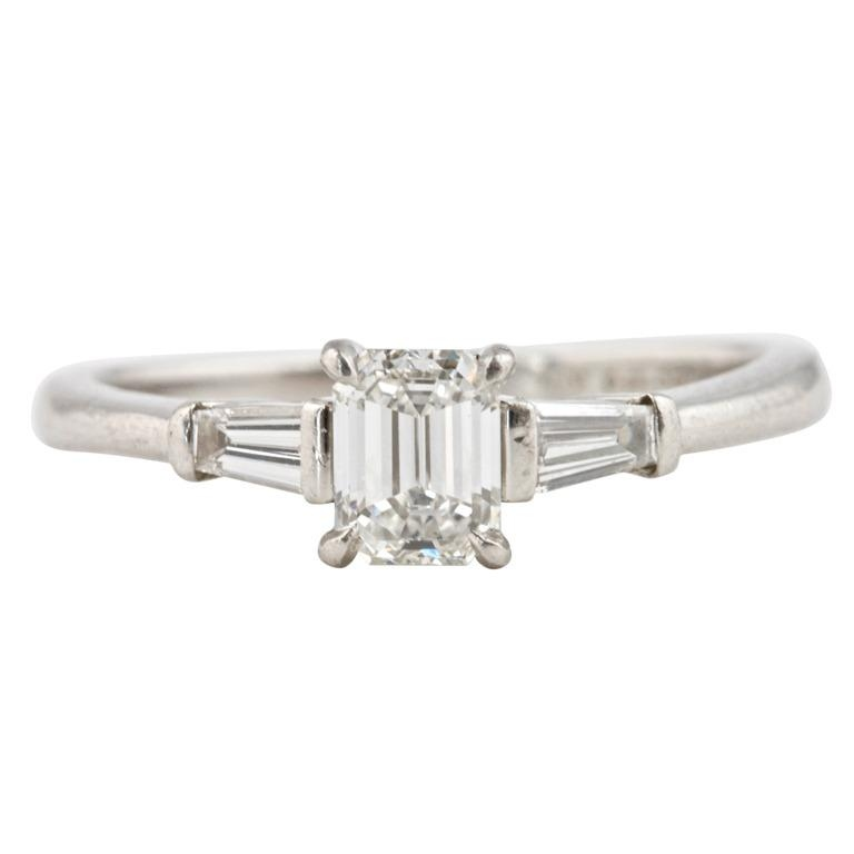 Tiffany Diamond Platinum Engagement Ring