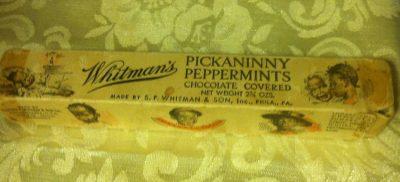 Whitman's Pickaninny Pepperment Chocolates Box