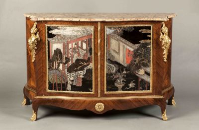 A Good Chinoiserie Commode In the Louis XV Manner by Mais