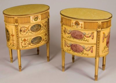 A Good Pair of Commodes  In the Neo-Classical Adam Manner