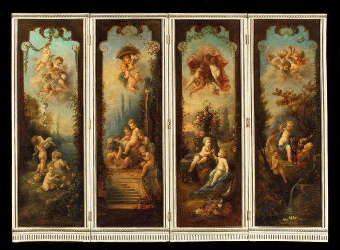 A Dramatic and Decorative Screen