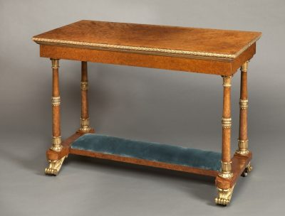 A Highly Important & Rare Royal Table made by Morel & Seddon for the Windsor Castle Commission