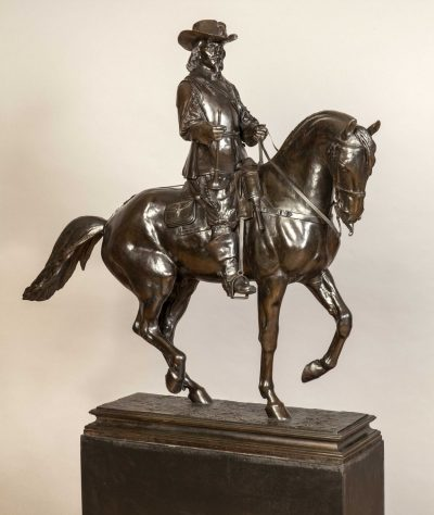 A Superb Equestrian Statue of a Musketeer by Isidore-Jules Bonheur