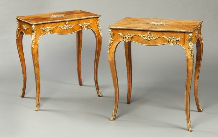 An Attractive Pair of Antique Side Tables