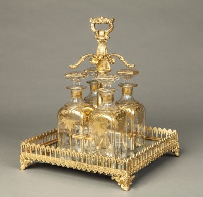 A Drinks Set of the Napoleon III Period