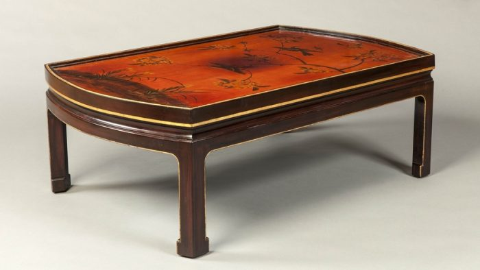 A Low Table in the Chinoiserie Manner