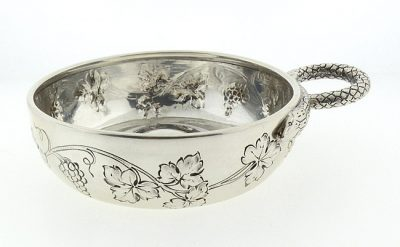 Louis Coignet 19th Century French First Standard Silver Tastevin