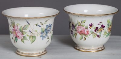 Pair of French Cache Pot