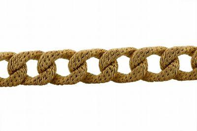 George L'Enfant Woven Gold Bracelet