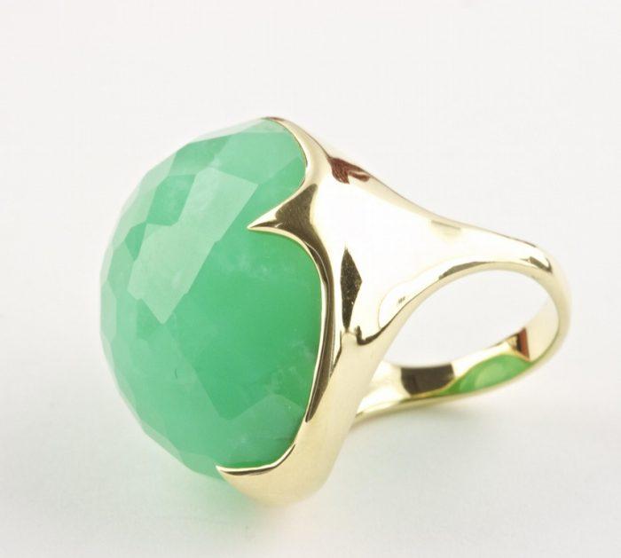 Ippolita Chrysophrase Ring
