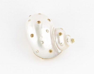 Oscar Heyman Sapphire and Diamond Platinum Ring