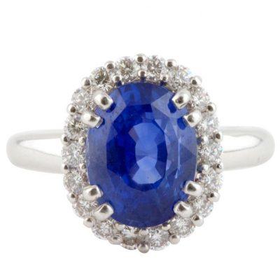 Exquisite Sapphire Ring
