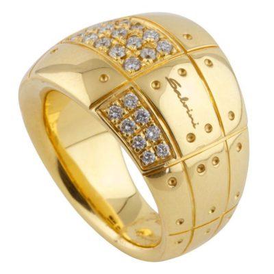 Sabrini Gold and Diamond Ring