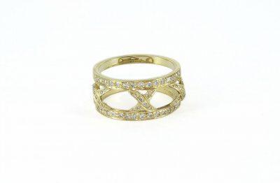 18kt Yellow Gold Hidalgo Diamond Ring
