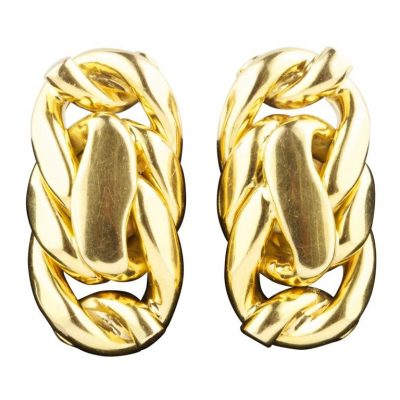 French Gold Earrings