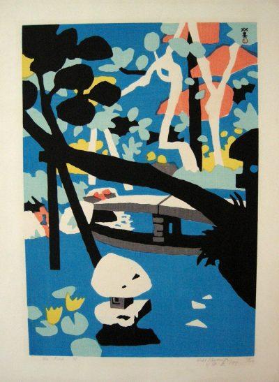 Hide Kawanishi Woodblock Print
